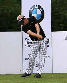 Søren Kjeldsen professional golfer