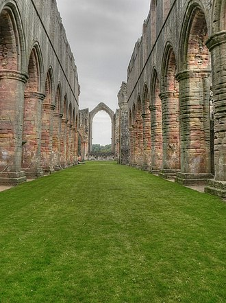 Harrying of the North - Image: 2538019fountains abbey