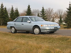 1993 Mercury Sable GS sedan