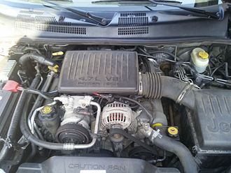 Jeep Grand Cherokee - 4.7 Powertech engine Jeep WJ