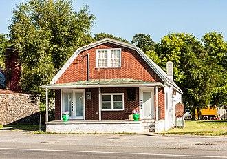 Calverton Historic District - Image: 4129Catlett Hardware 9583