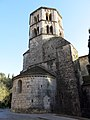 421 Sant Pere de Galligants (Girona), absis i campanar.JPG