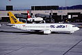 43at - Air Alfa Boeing 737-4Y0; TC-AFZ@ZRH;07.11.1998 (5126808532).jpg