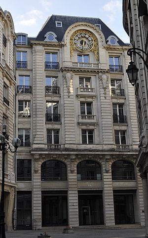 Tribunal de grande instance de Paris - Image: 5, rue des italiens, Paris, France