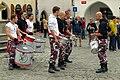 5.9.15 Drummers inm Cesky Krumlov 07 (21189221836).jpg