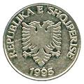 5 lekë of Albania in 2011 Reverse.png
