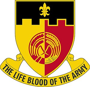 64th Brigade Support Battalion (United States) - Image: 64 Spt Bn DUI