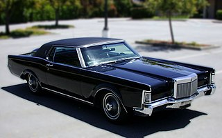 Lincoln Continental Mark III personal luxury car