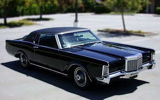 Lincoln Continental Mark III - 1969 Lincoln Continental Mark III