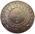 6 Livres, France, 1793 - Bode-Museum - DSC02632.JPG