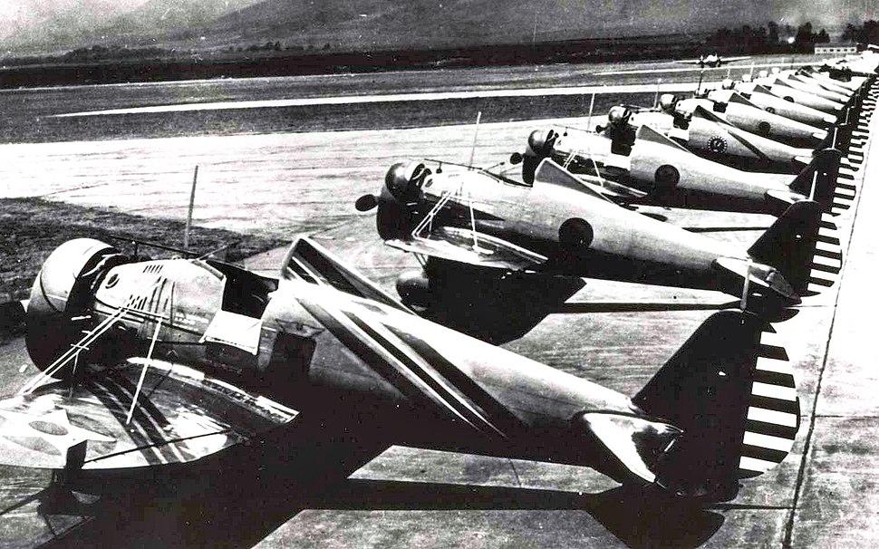 6th Pursuit Squadron Boeing P-26E Peashooters