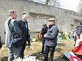 70. Jahrestag der Befreiung des KZ Bergen-Belsen, 26. April 2015 Stefan Schostok und Rainer Hoffschildt.JPG