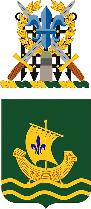 Coats of arms of U.S. Army units - Image: 709 MP BN COA