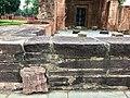 7th century pillar remains of mandala ruins, Lakshmana Hindu temple, Sirpur Chhattisgarh India 3.jpg