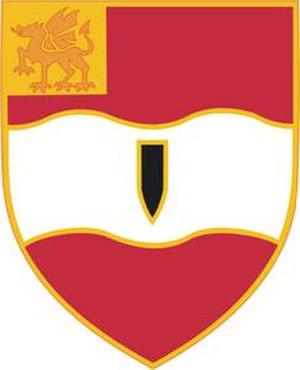 3rd Brigade Combat Team, 1st Cavalry Division (United States) - Image: 82FARegt DUI