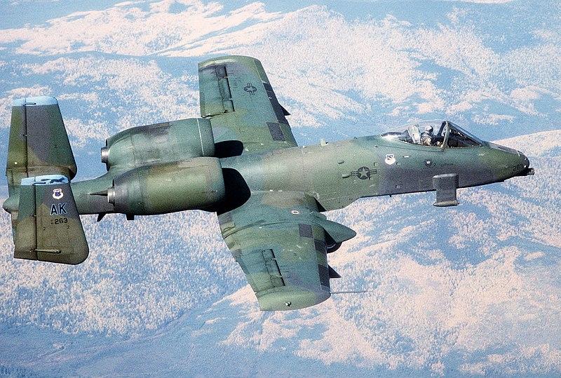 A 10 Warthog Fairchild-Republic A-1...
