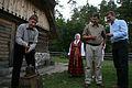 A.Kubiļus, V.Dombrovskis un A.Ansips viesojas Brīvdabas muzejā 27.08.2011. (6089147964).jpg