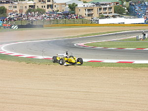 2008–09 A1 Grand Prix of Nations, South Africa - A1 Team Malaysia's Fairuz Fauzy recorded the fastest lap of the race.