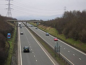 A5 road (Great Britain) - Image: A5 Dual Carriageway