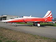 AF Northrop F-5E Schweizerische Luftwaffe Payerne 04092004.JPG