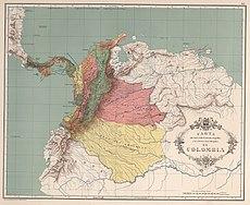 AGHRC (1890) - Carta XIV - Orografía e hidrografía de Colombia.jpg