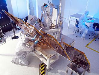 Aeronomy of Ice in the Mesosphere - AIM in clean room