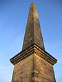 AM Nelsons Monument, Glasgow Green, at sunset.JPG