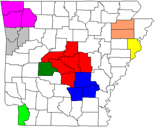Arkansas metropolitan areas
