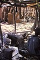 ASC Leiden - W.E.A. van Beek Collection - Dogon markets 53 - An open air smithy in Sangha, Mali 1989.jpg