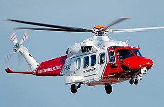 AgustaWestland AW189 Twin-engined, medium-lift helicopter manufactured by Leonardo