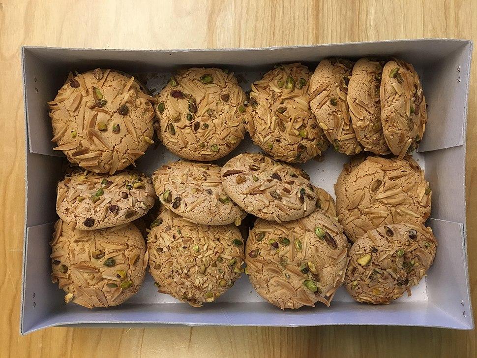 A Box of Qurabiya by Nobari Confectionary (Tehran, Iran)