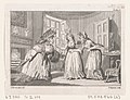 "A Drawing Room Altercation, an illustration from Tobias Smollett's ""The Expedition of Humphry Clinker"" (London, 1793), Vol. 1 MET DP872119.jpg"
