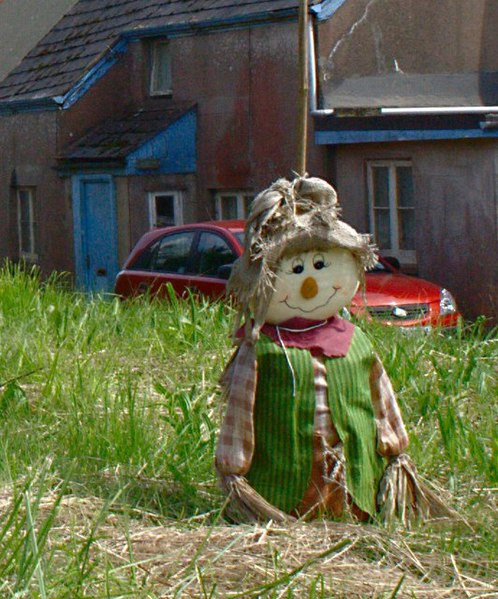 File:A Happy Scarecrow - geograph.org.uk - 1437352.jpg