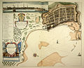A Mapp of the Citie and Port of Tripoli in Barbary - by John Seller 1675.JPG