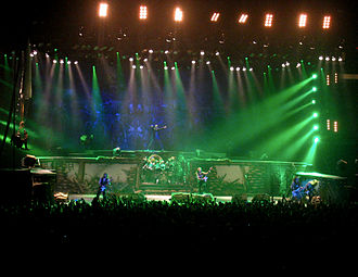 A Matter of Life and Death (album) - Iron Maiden during the A Matter of Life and Death Tour, in which they performed the album in its entirety.