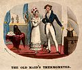 A fashionable middle-aged woman reprimanding a young male relative Wellcome V0011222.jpg