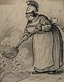 A homely Britannia using a Navy Brush to clear the Pacific Wellcome V0049561.jpg
