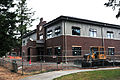 A new U.S. Army chemical battalion headquarters building sits at the corner of 8th and D Streets during construction aboard Joint Base Lewis-McChord, Wash., Aug. 9, 2012 120809-A-VH247-005.jpg