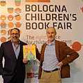 Aaron Sigmond at the Bologna's Children Book Fair.jpg