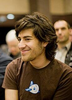 Aaron Swartz Computer programmer and internet/political activist