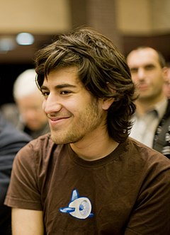 Aaron Swartz at a Creative Commons event.