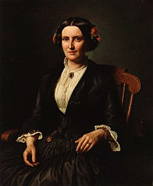 Aasta Hansteen 1853 woman with rose in her hair.jpg