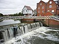 Abbey Mill and weir, Tewkesbury - geograph.org.uk - 1729202.jpg