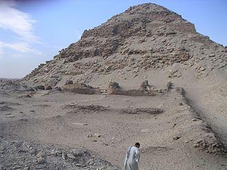 Pyramid of Neferirkare - Image: Abousir Neferirkare 02