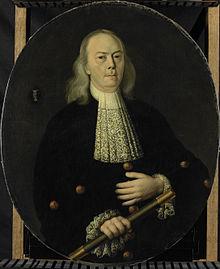 Abraham van Riebeeck (1653-1713).  Gouverneur-generaal van Nederlands Oost Indië (1709-1713) Rijksmuseum SK-A-811.jpeg