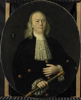 Abraham van Riebeeck - Image: Abraham van Riebeeck (1653 1713). Gouverneur generaal van Nederlands Oost Indië (1709 13) Rijksmuseum SK A 811