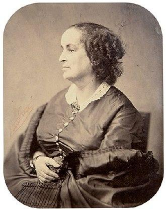 Adèle Foucher - Adèle Hugo in later life, by Pierre Petit