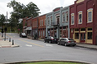 National Register of Historic Places listings in Bartow County, Georgia - Image: Adairsville Historic Shoppes 5