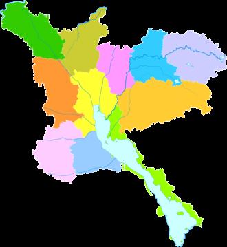 Jining - Image: Administrative Division Jining