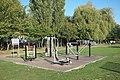 Adult gym at Tonbridge Park - geograph.org.uk - 2604451.jpg